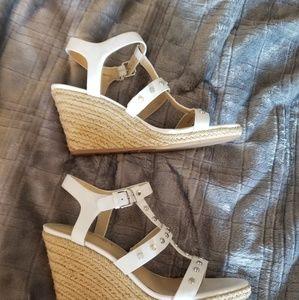 f488322333d Vis Spiga Wedge Sandals. Vis Spiga Wedge Sandals.  40  100. BRAND NEW VIA  SPIGA SUEDE ...